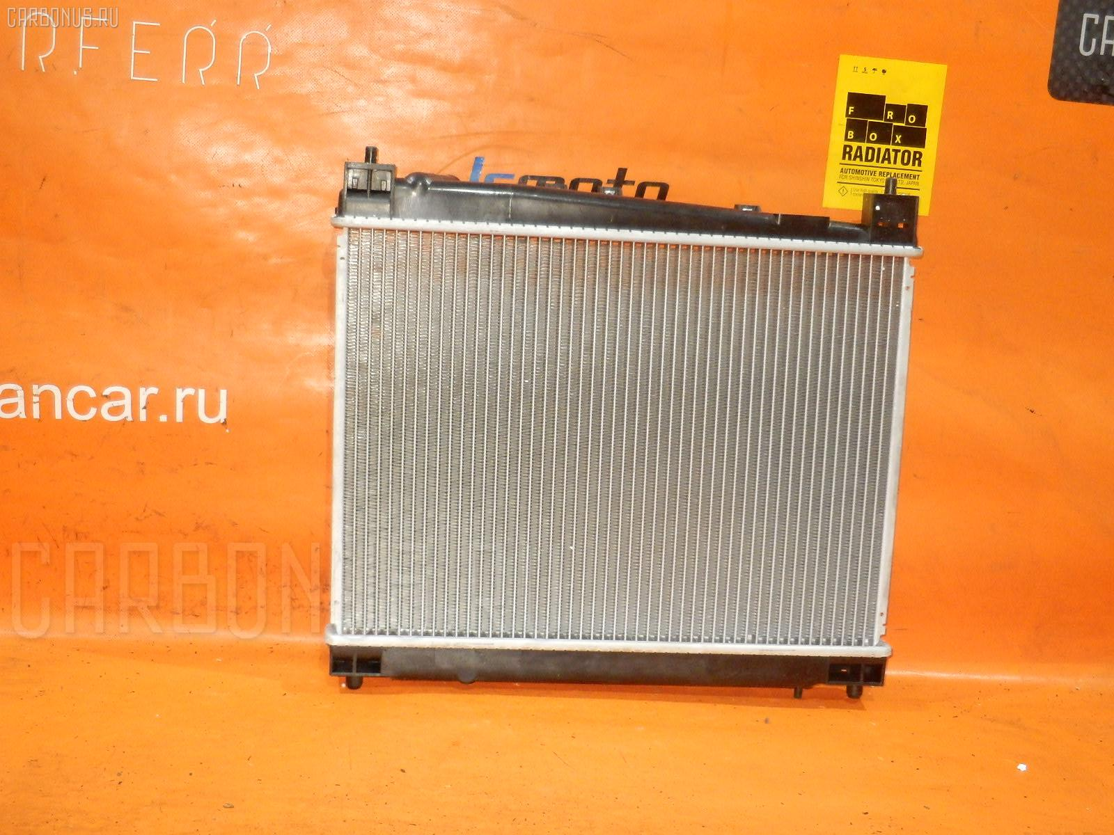 Радиатор ДВС TOYOTA FUNCARGO NCP21 1NZ-FE Фото 1