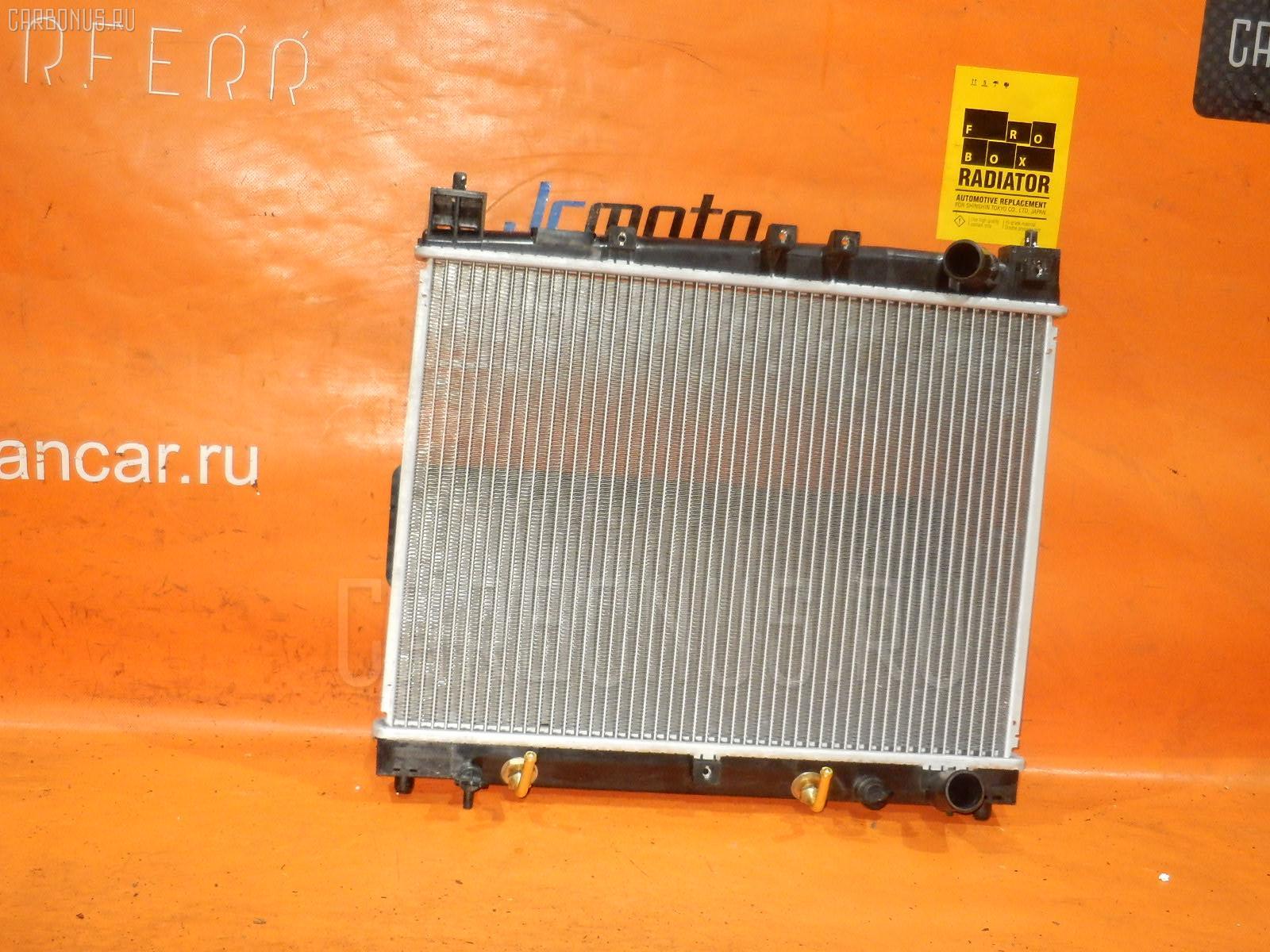 Радиатор ДВС TOYOTA FUNCARGO NCP21 1NZ-FE Фото 2