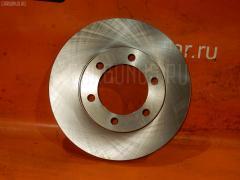 Тормозной диск на Toyota Land Cruiser Prado KDJ90W UQUMI UQ-116F-4128  43512-35210  UQ-116-4128, Переднее расположение