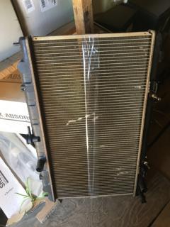 Радиатор ДВС на Nissan Sunny FB15 QG15DE FX-036-5154