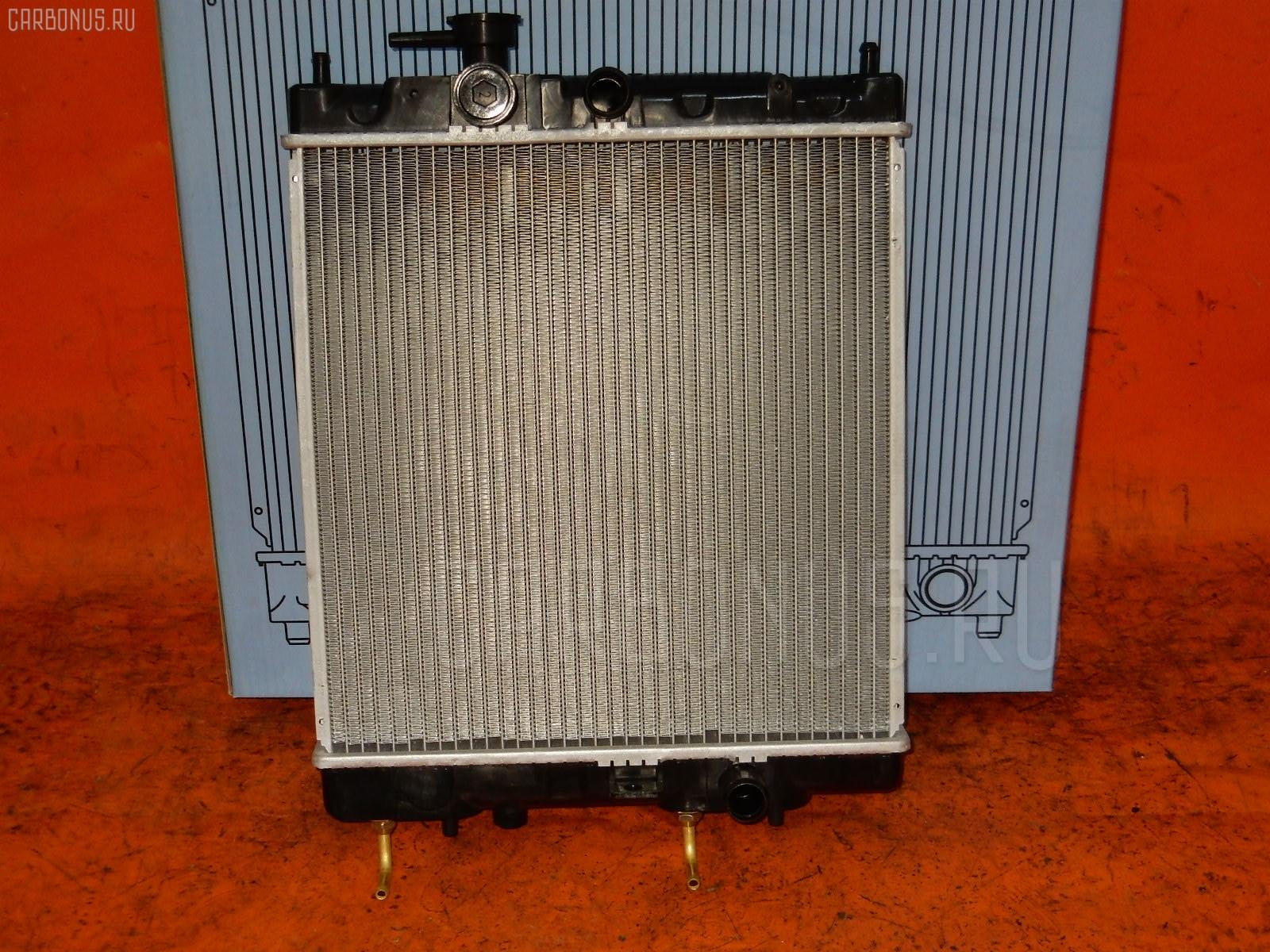 Радиатор ДВС NISSAN MARCH K11 CG10DE. Фото 2