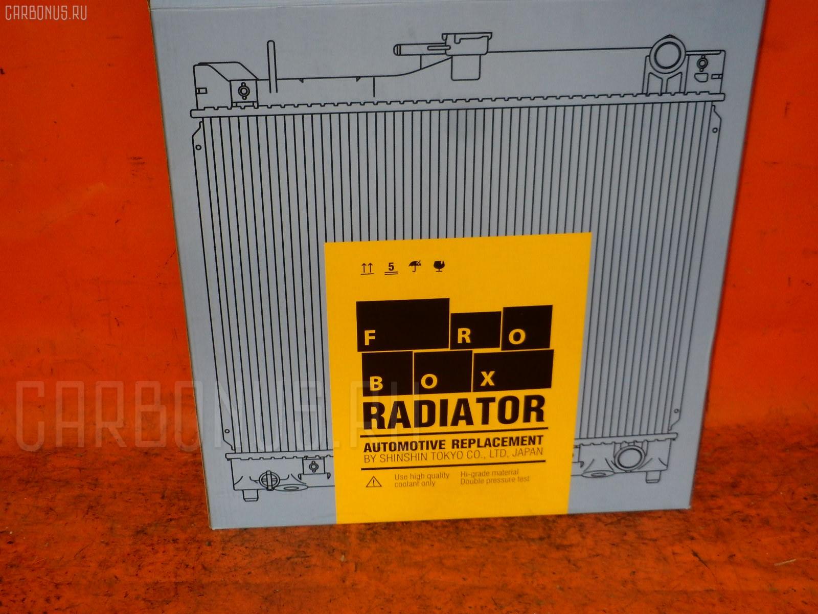 Радиатор ДВС NISSAN MARCH K11 CG10DE. Фото 5