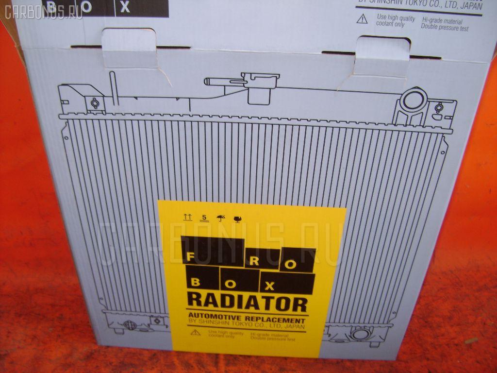 Радиатор ДВС NISSAN MARCH K11 CG10DE. Фото 7