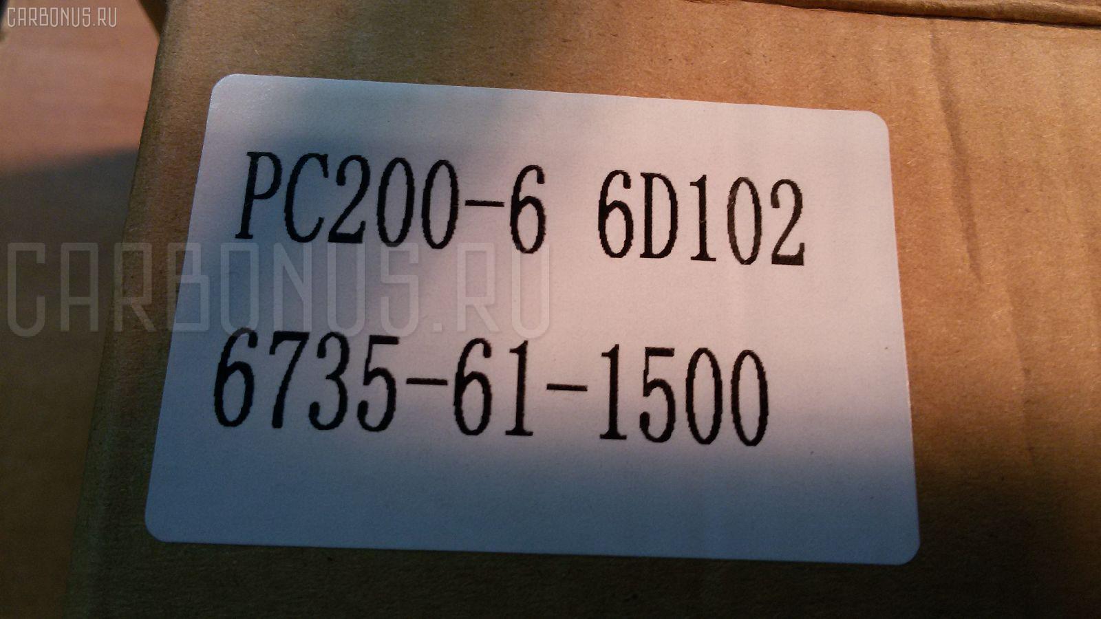 Помпа KOMATSU PC200-6 S6D102 Фото 1