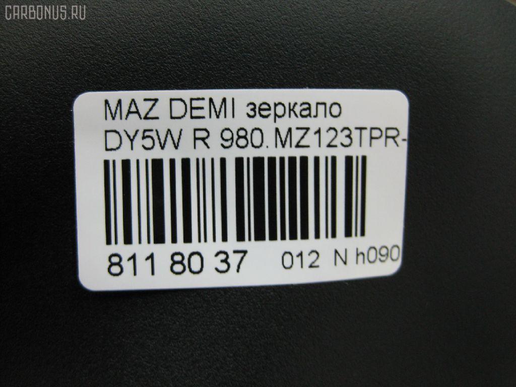 Зеркало двери боковой MAZDA DEMIO DY5W Фото 4