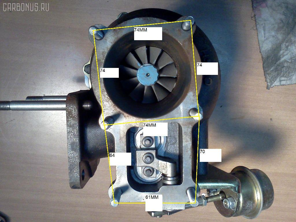 Турбина ISUZU FORWARD FTR32 6HE1 Фото 1