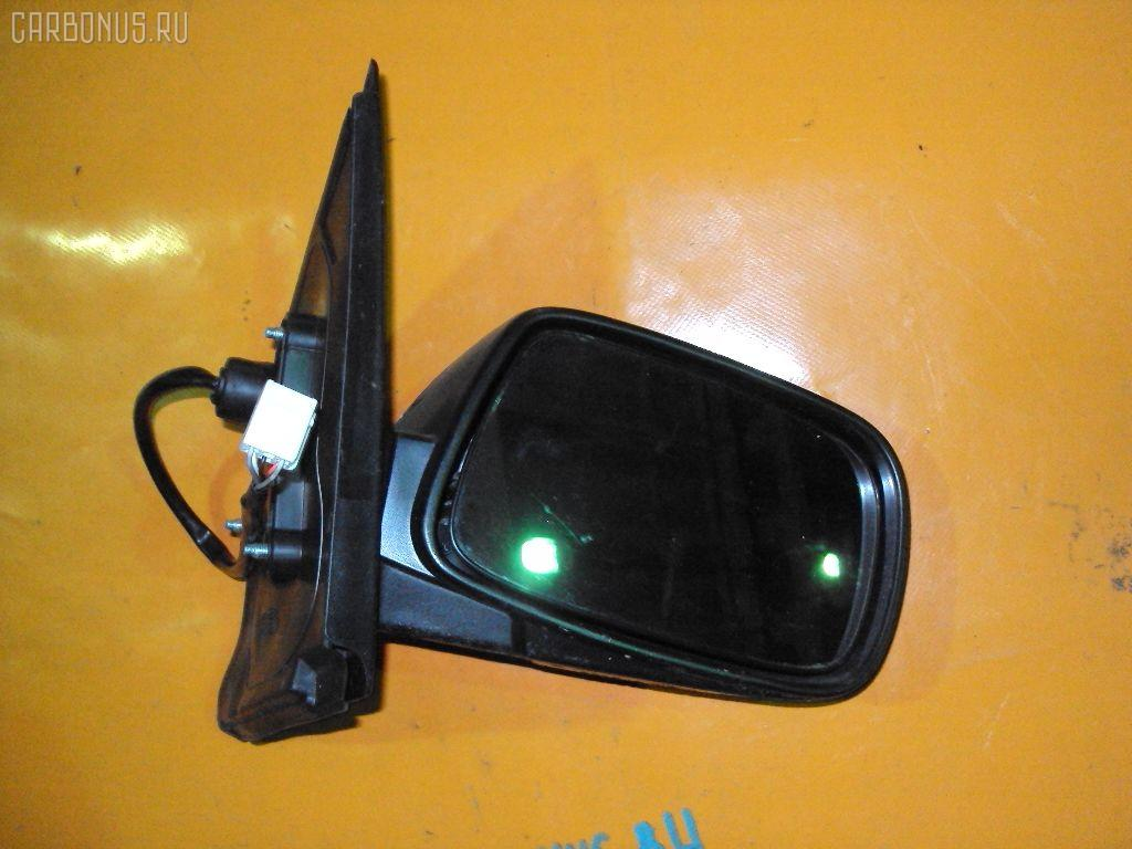Зеркало двери боковой TOYOTA VITZ SCP10. Фото 4