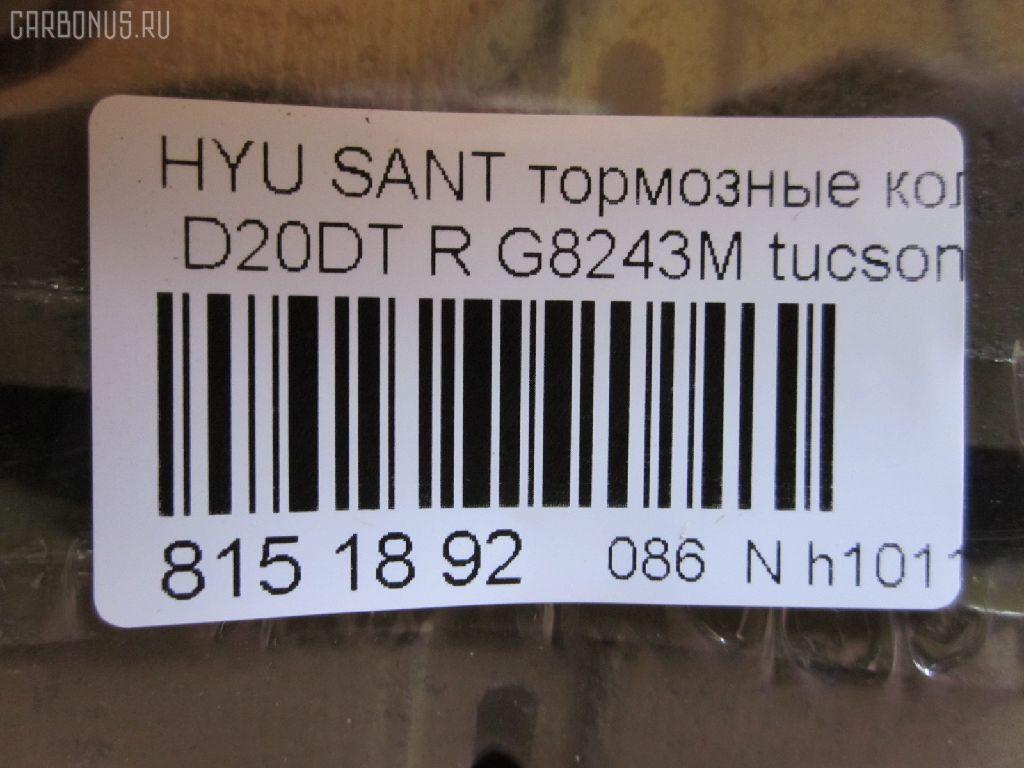 Тормозные колодки HYUNDAI SANTA FE D20DT Фото 3