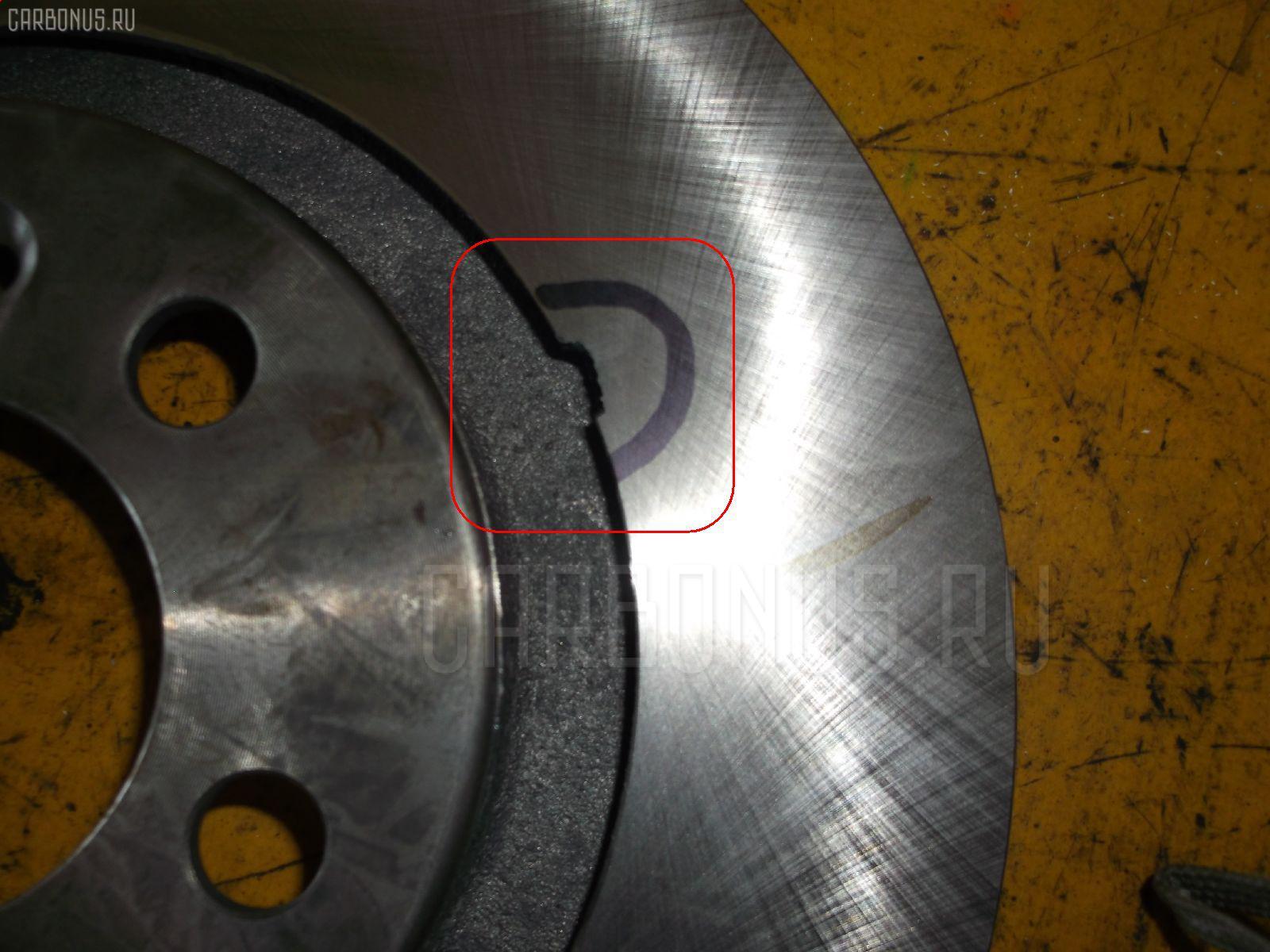 Тормозной диск VOLKSWAGEN BORA 1J2 Фото 2