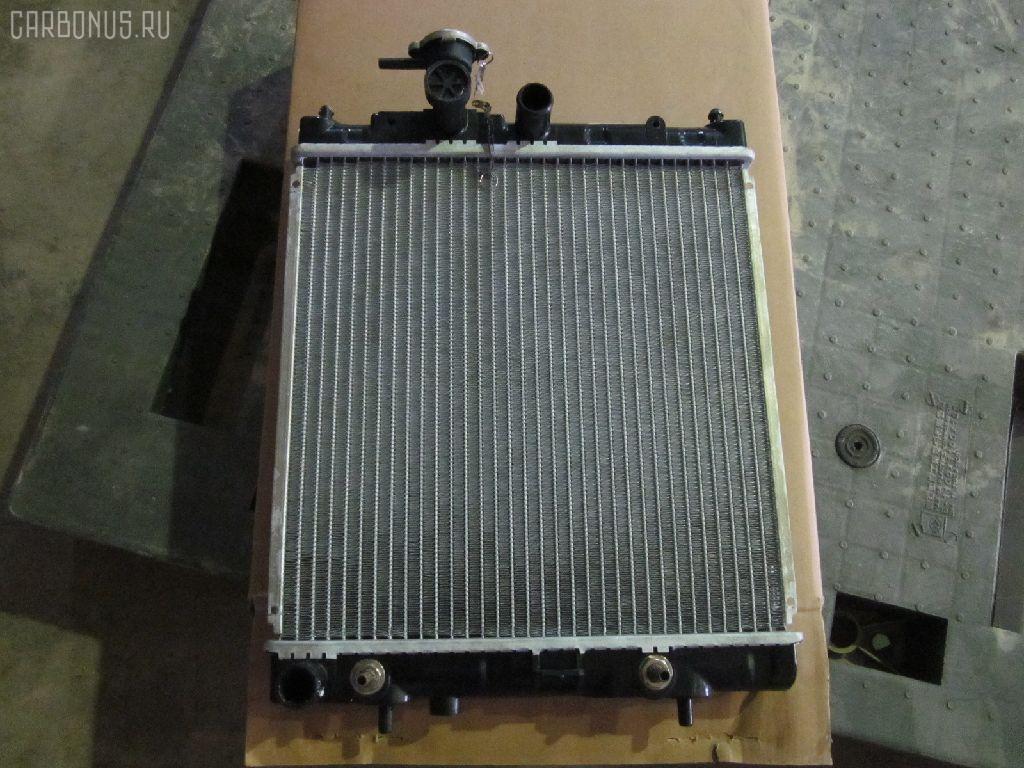 Радиатор ДВС NISSAN MARCH K11 CG10DE. Фото 10