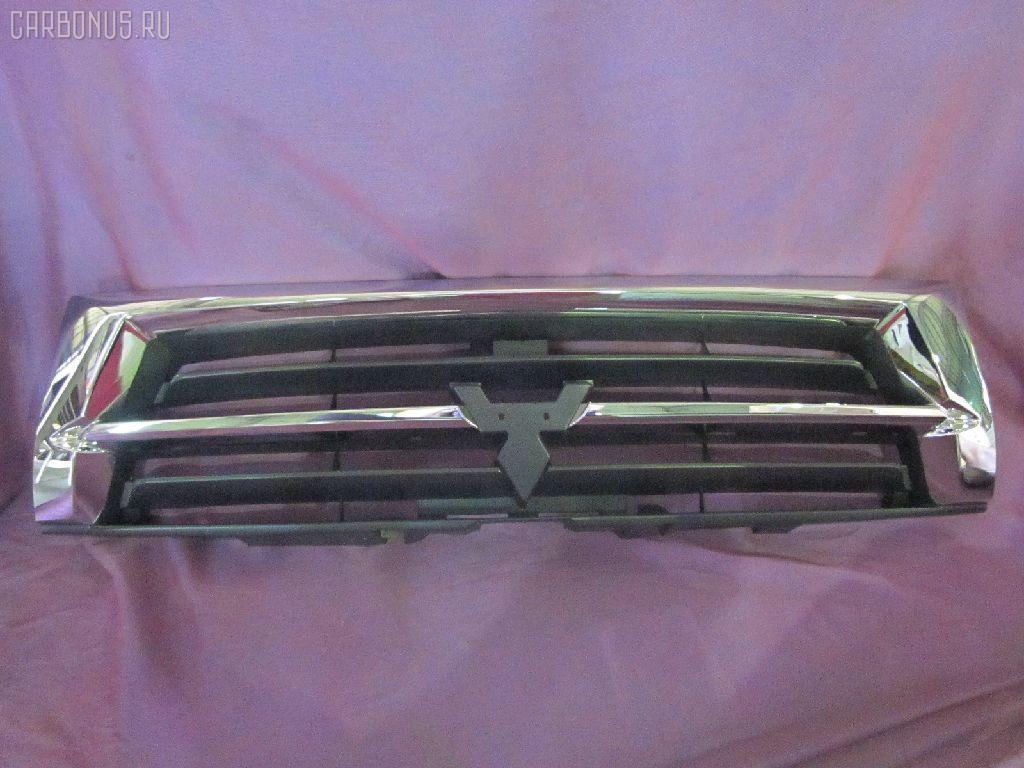 Решетка радиатора MITSUBISHI PAJERO V75W. Фото 7