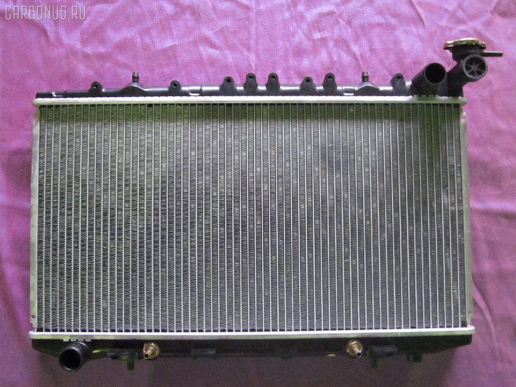 Радиатор ДВС NISSAN AVENIR PNW10 SR20DE. Фото 3