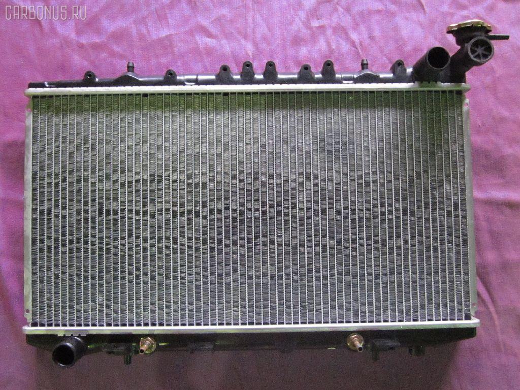 Радиатор ДВС NISSAN AVENIR PNW10 SR20DE. Фото 5