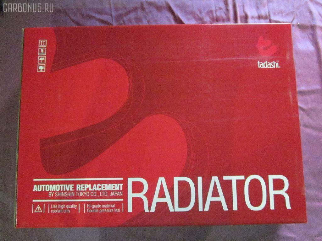 Радиатор ДВС NISSAN AVENIR PNW10 SR20DE. Фото 6