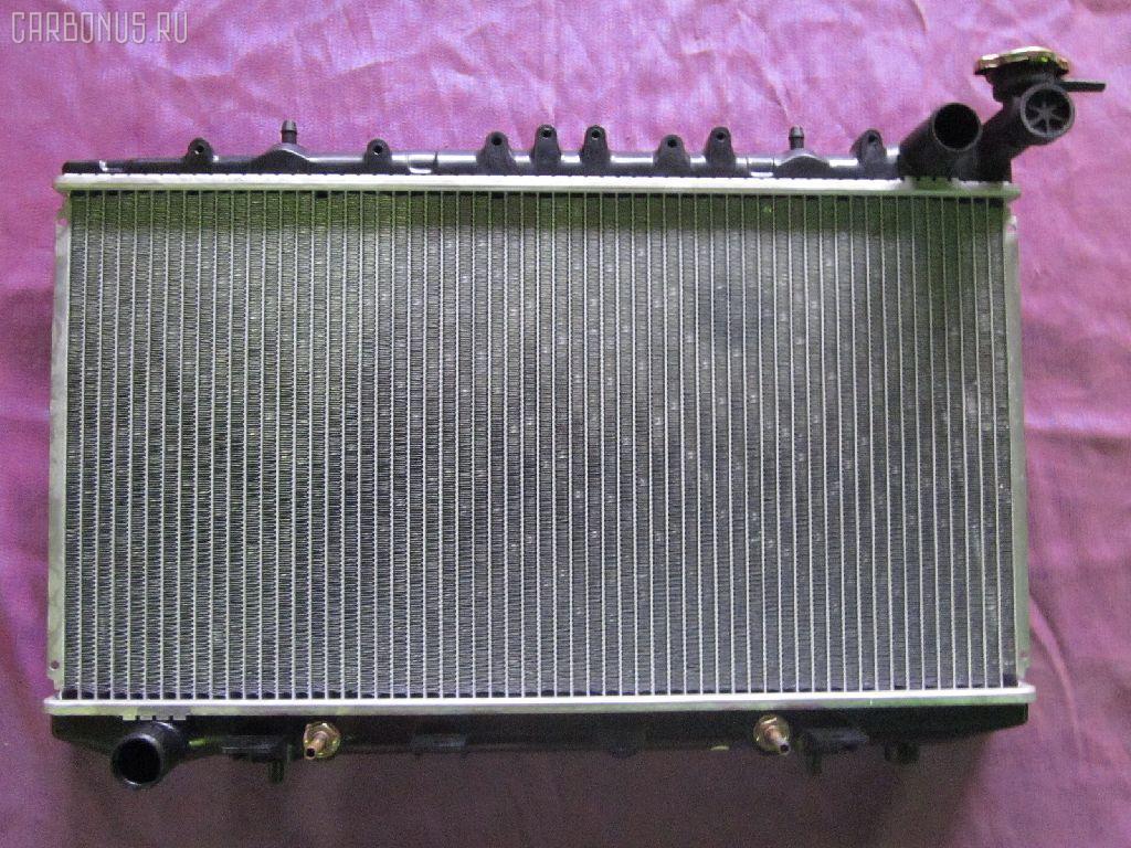 Радиатор ДВС NISSAN AVENIR PNW10 SR20DE. Фото 7