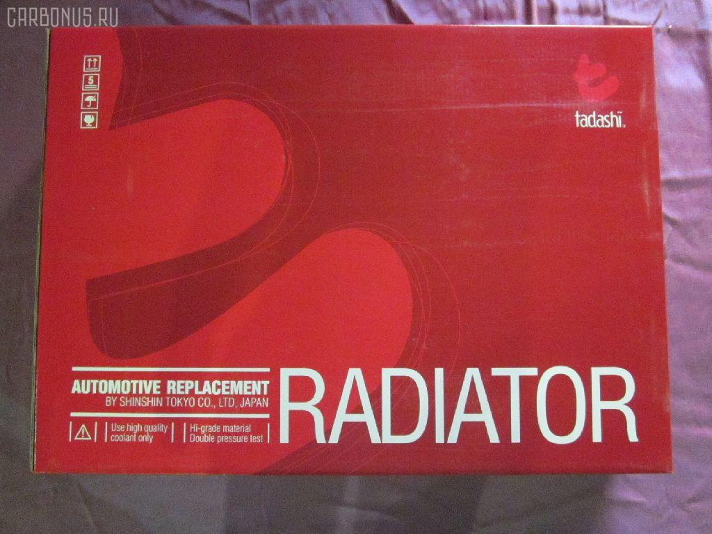 Радиатор ДВС NISSAN AVENIR PNW10 SR20DE. Фото 8