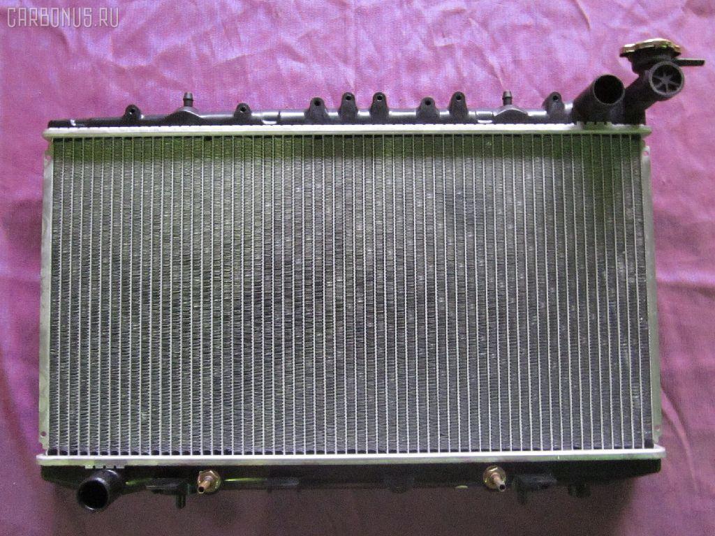 Радиатор ДВС NISSAN AVENIR PNW10 SR20DE. Фото 9