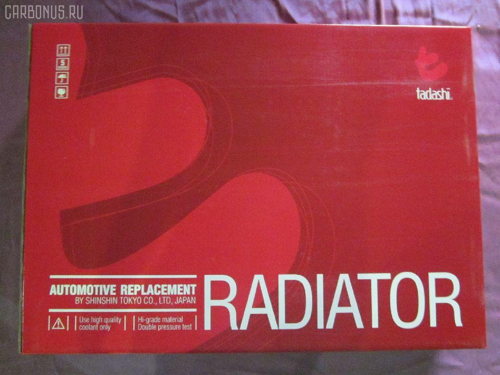 Радиатор ДВС NISSAN AVENIR PNW10 SR20DE. Фото 10