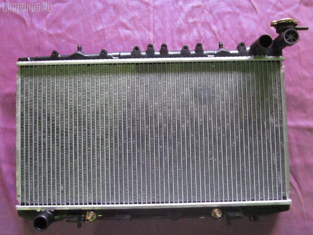 Радиатор ДВС NISSAN AVENIR PNW10 SR20DE. Фото 11