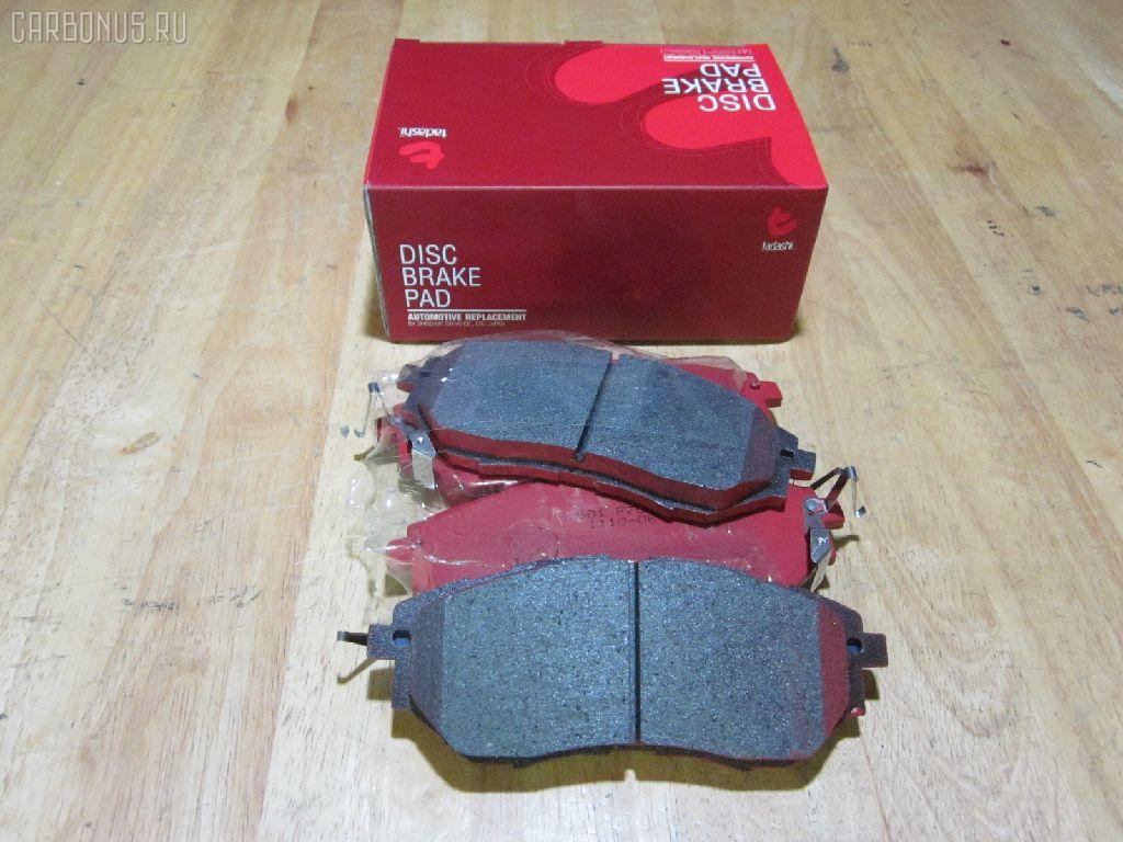 Тормозные колодки SUBARU LEGACY BL5 Фото 1