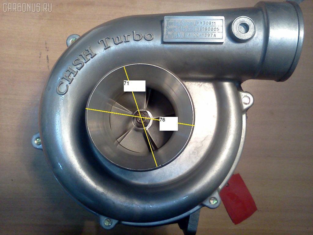 Турбина HINO TRUCK FN27 EP100 Фото 3