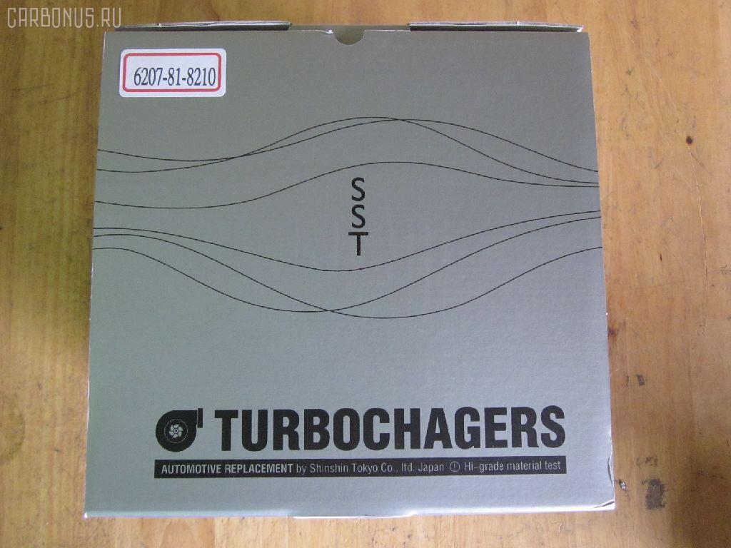 Турбина KOMATSU PC200-5 PC200-5 S6D95. Фото 4