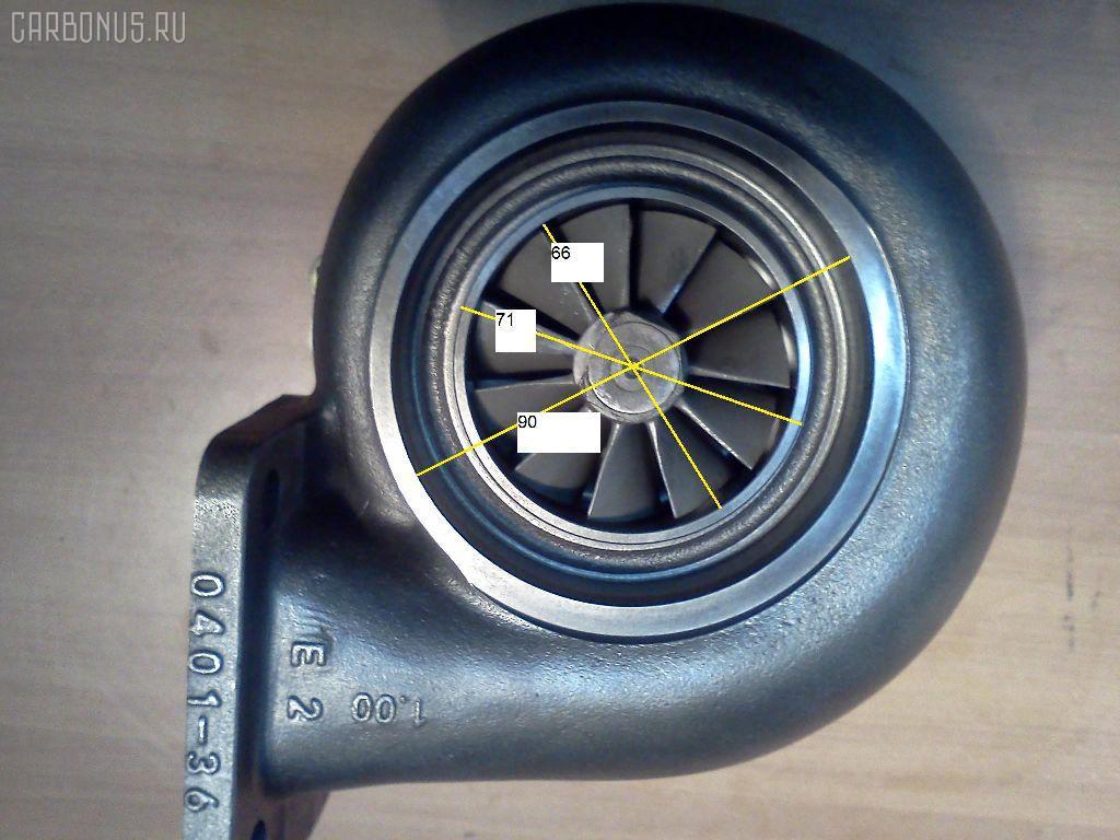 Турбина KOMATSU PC300-5 PC300-5 SA6D108 Фото 2