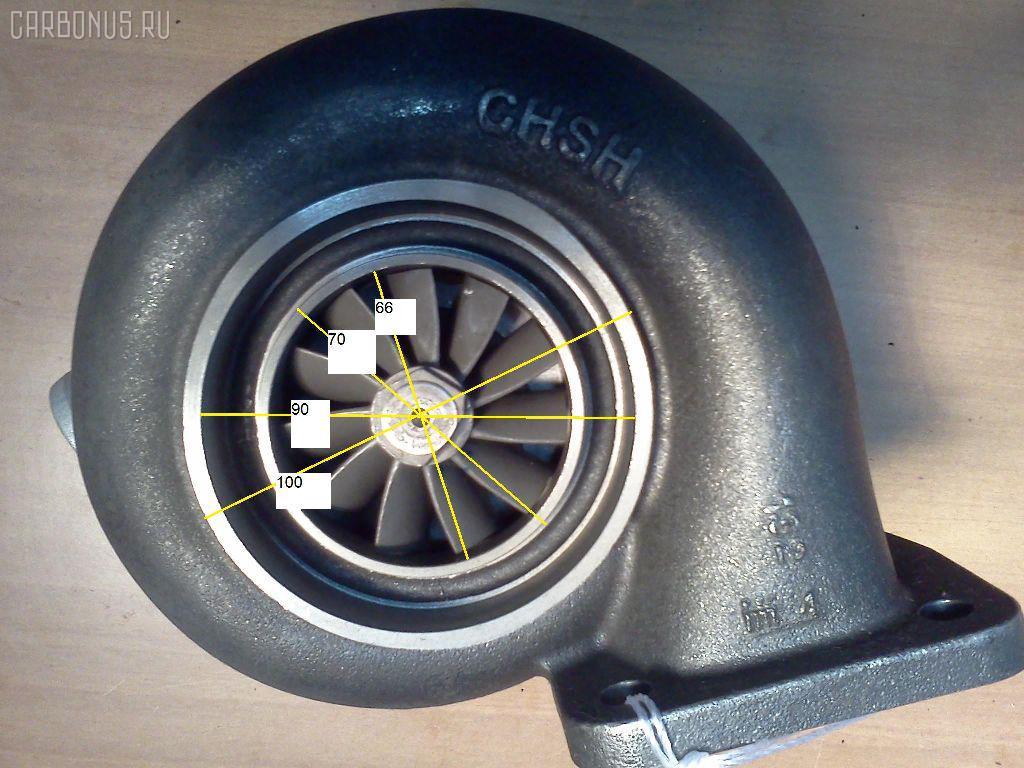 Турбина KOMATSU PC300-6 PC300-6 SA6D108. Фото 1