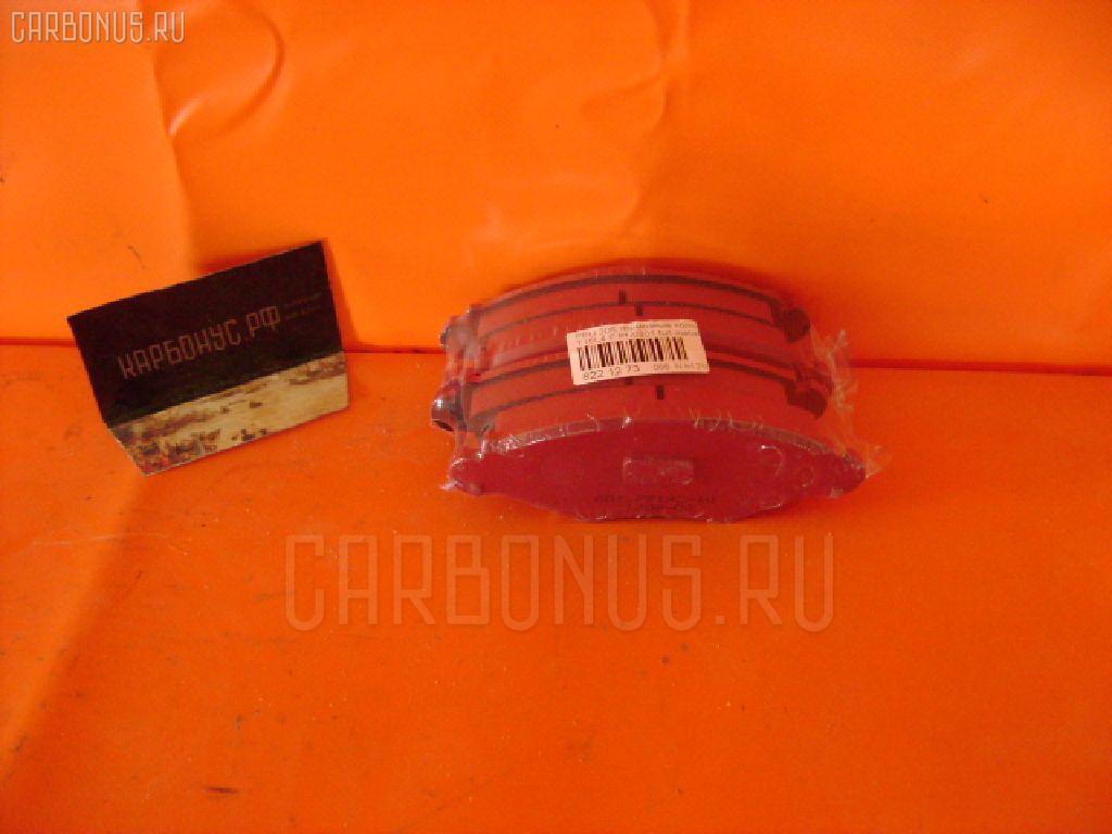 Тормозные колодки PEUGEOT 206 2AHFX HFX-TU1JP Фото 1