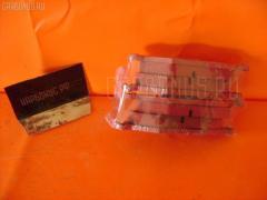 Тормозные колодки PEUGEOT 206 2AHFX HFX-TU1JP Фото 2