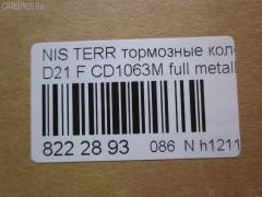 Тормозные колодки Nissan Terrano D21 Фото 2