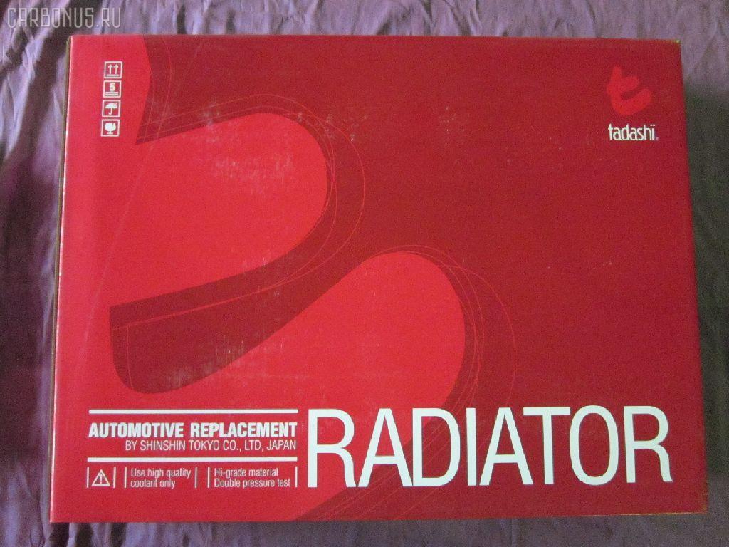 Радиатор ДВС HONDA PRELUDE BA8 F22B. Фото 5
