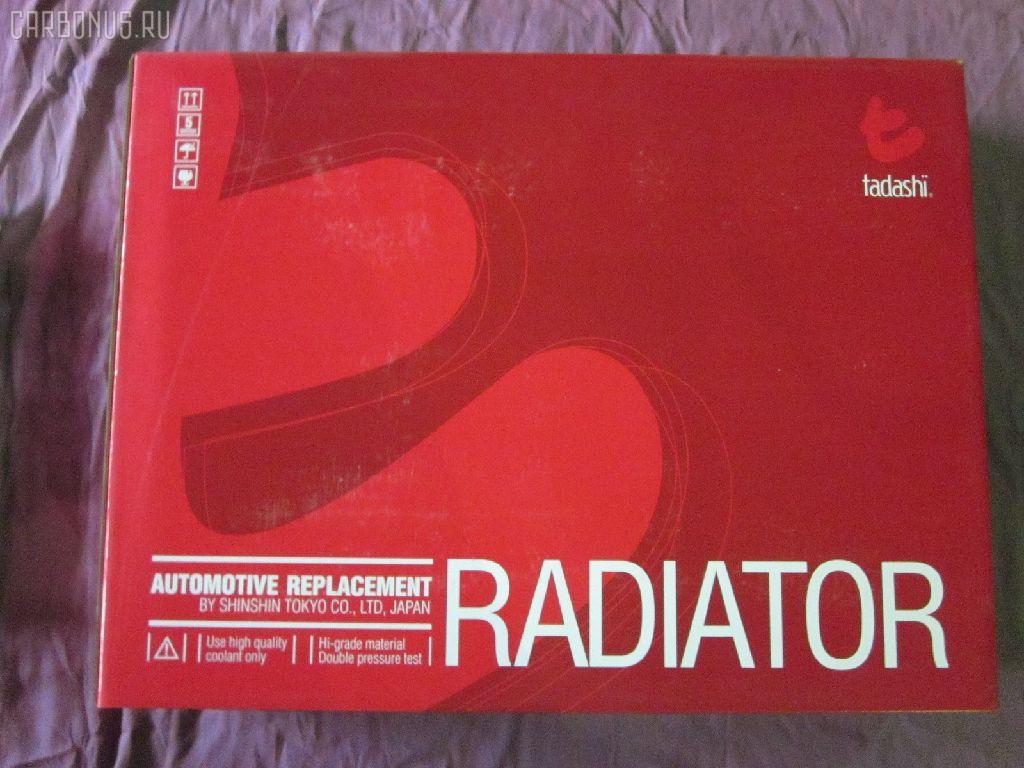 Радиатор ДВС HONDA PRELUDE BA8 F22B. Фото 6