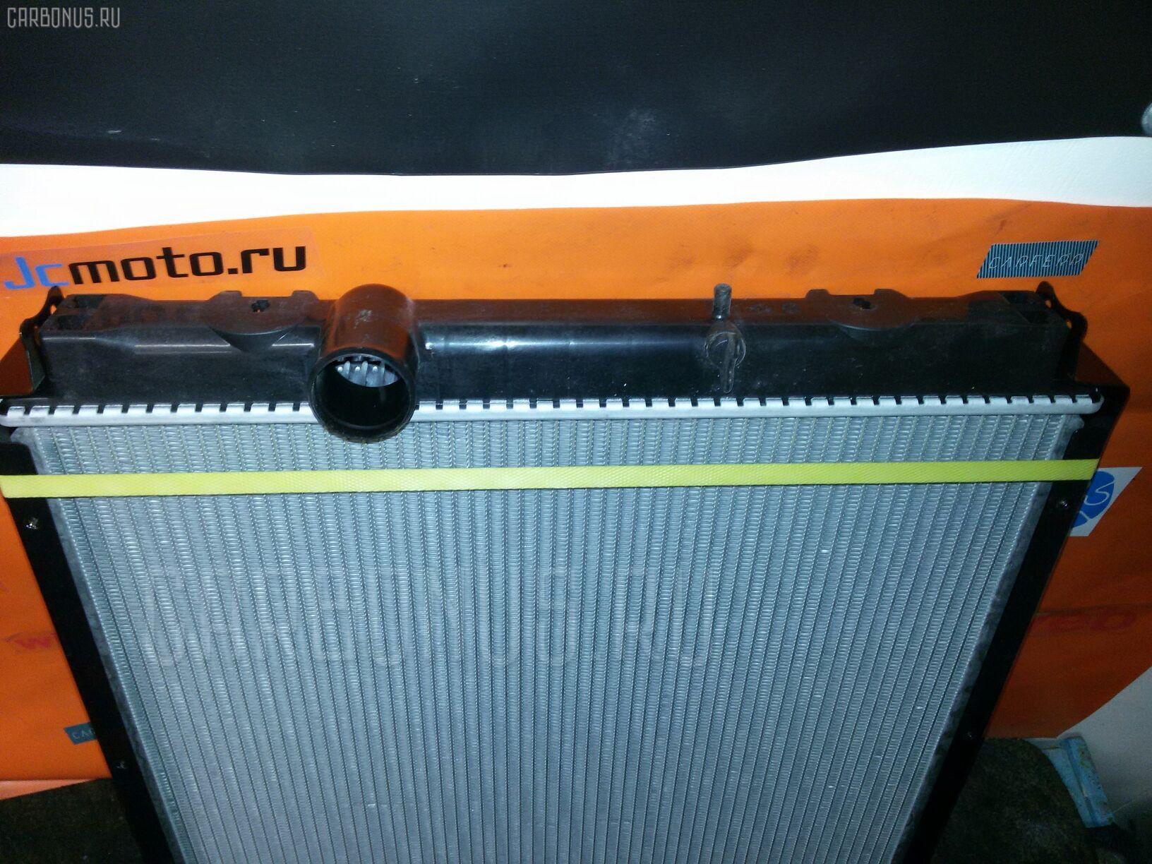 Радиатор ДВС MITSUBISHI CANTER 4D33 Фото 1