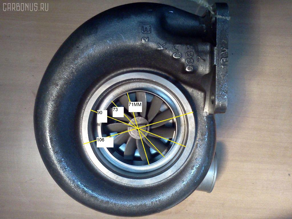 Турбина HINO TRUCK FN28 EP1. Фото 1