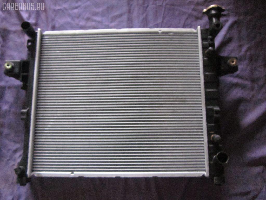 Радиатор ДВС JEEP GRAND CHEROKEE II WJ47 EVA Фото 1