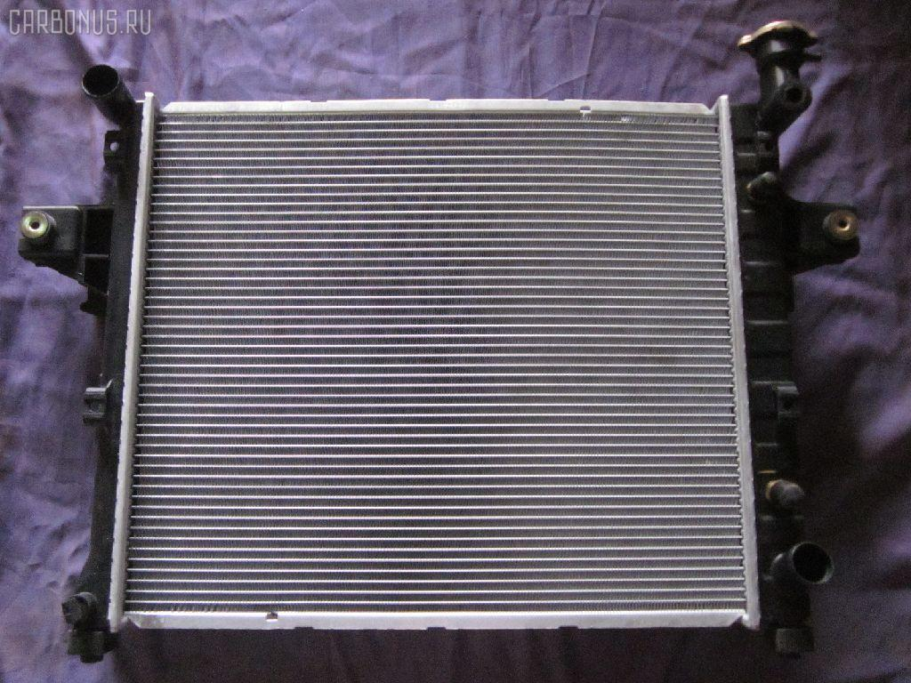 Радиатор ДВС JEEP GRAND CHEROKEE II WJ47 EVA Фото 2