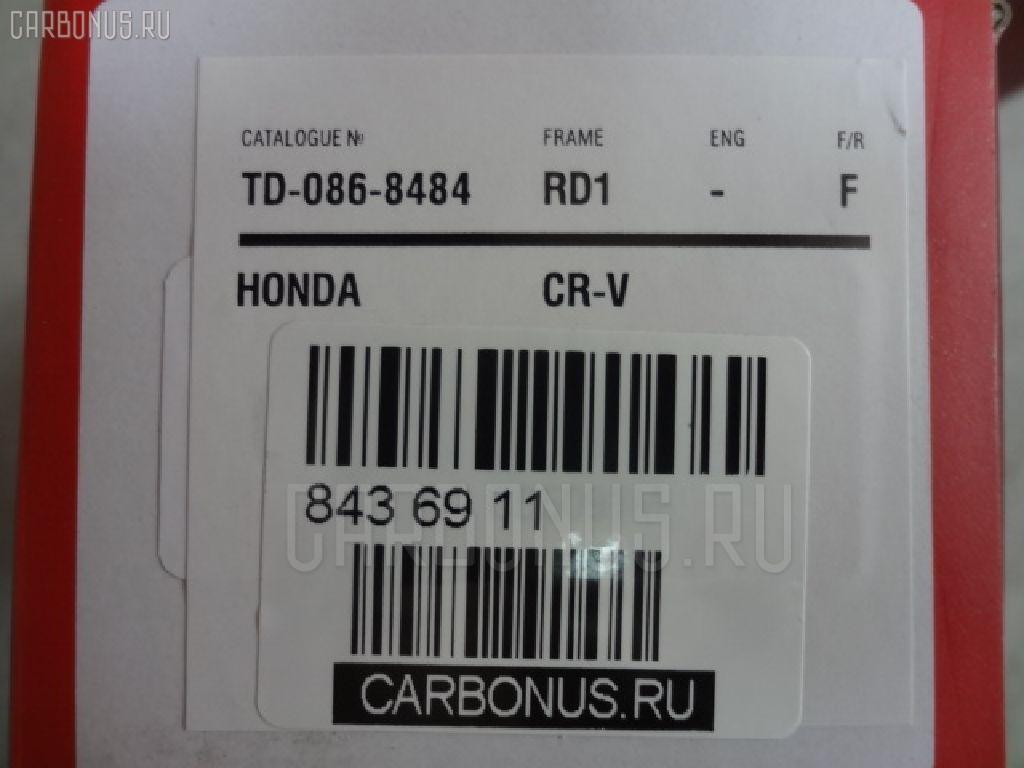 Тормозные колодки HONDA ACCORD COUPE CD7 Фото 4