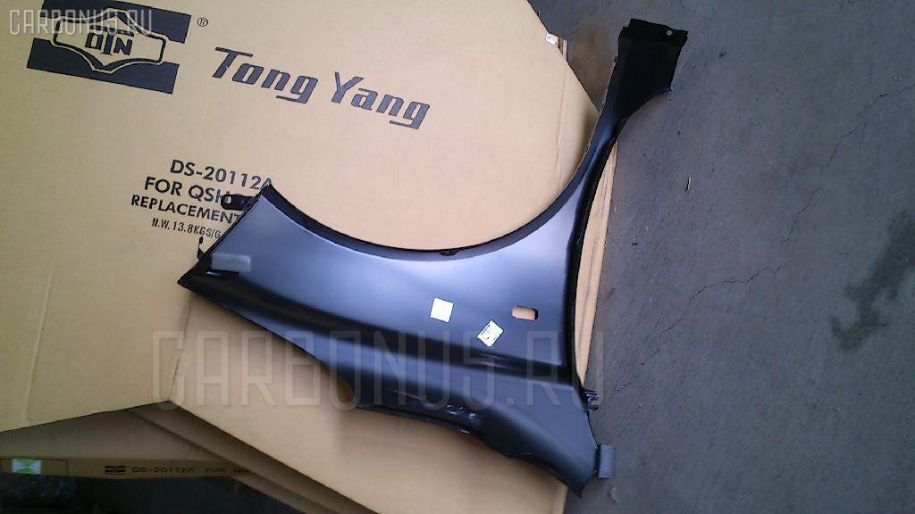 Крыло переднее TYG DS10121AL на Nissan March AK12 Фото 1