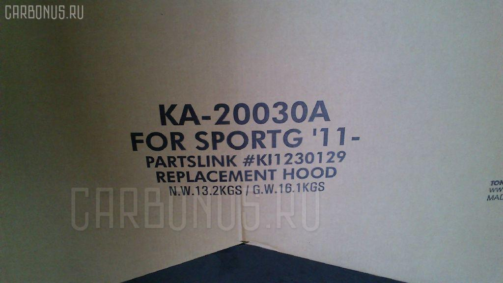 Капот KIA SPORTAGE FQ Фото 1