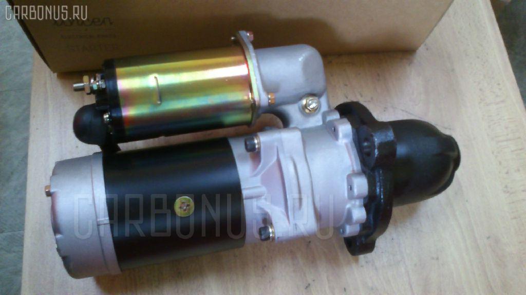 Стартер KOMATSU PC300 SA6D105 Фото 3
