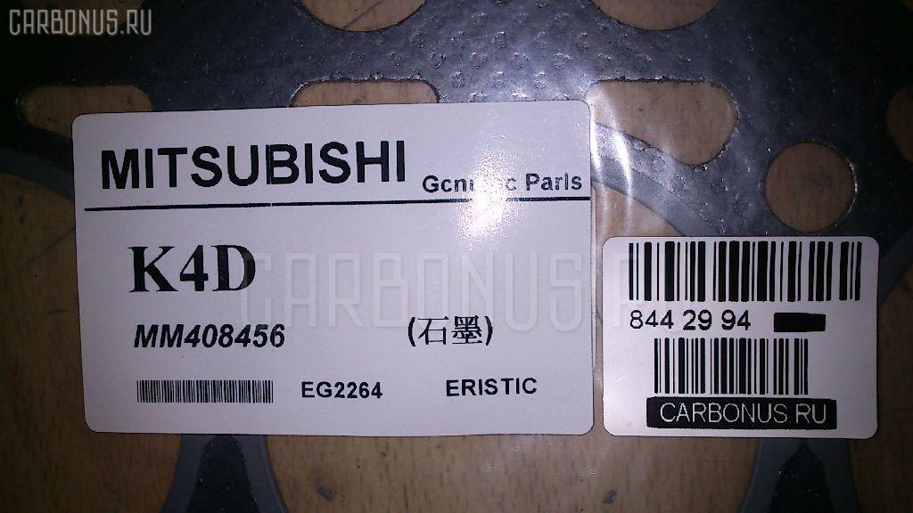 Прокладка под головку ДВС MITSUBISHI K4D K4D Фото 3