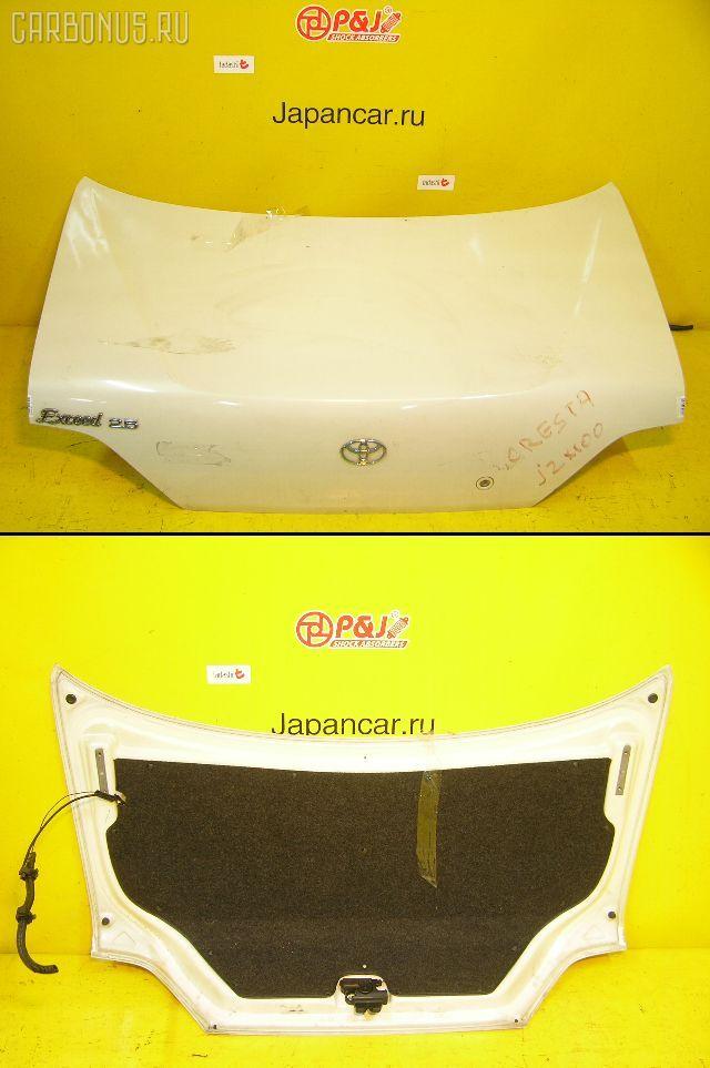 Крышка багажника TOYOTA CRESTA JZX100. Фото 6