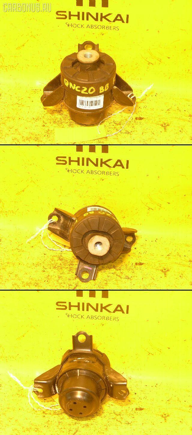 Подушка двигателя TOYOTA BB QNC20 K3-VE. Фото 1