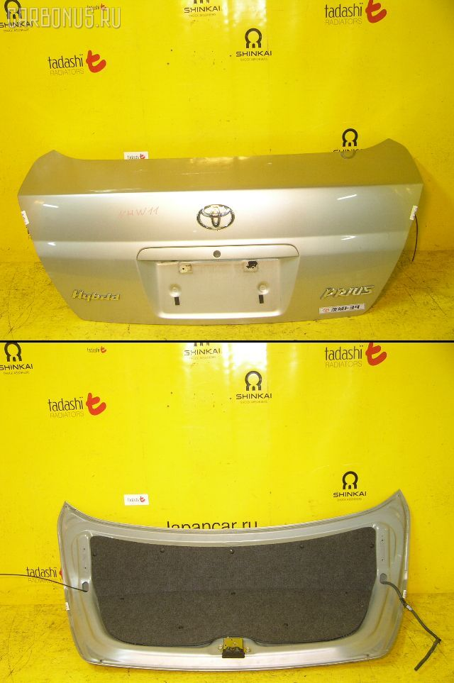 Крышка багажника TOYOTA PRIUS NHW10. Фото 3