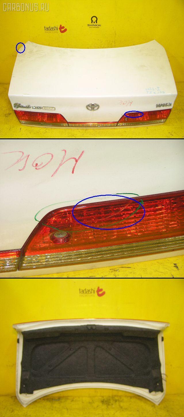Крышка багажника TOYOTA MARK II JZX100. Фото 9