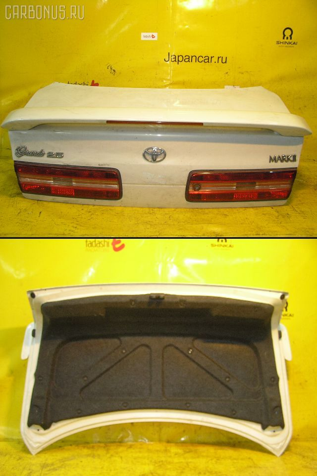 Крышка багажника TOYOTA MARK II JZX100. Фото 10
