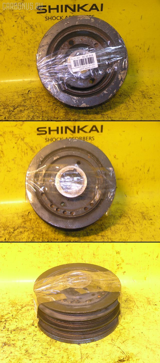 Шкив TOYOTA MARK II GX110 1G-FE. Фото 3