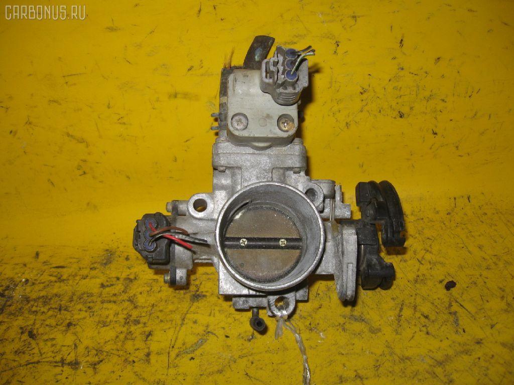 Дроссельная заслонка TOYOTA ST202 3S-FE. Фото 1