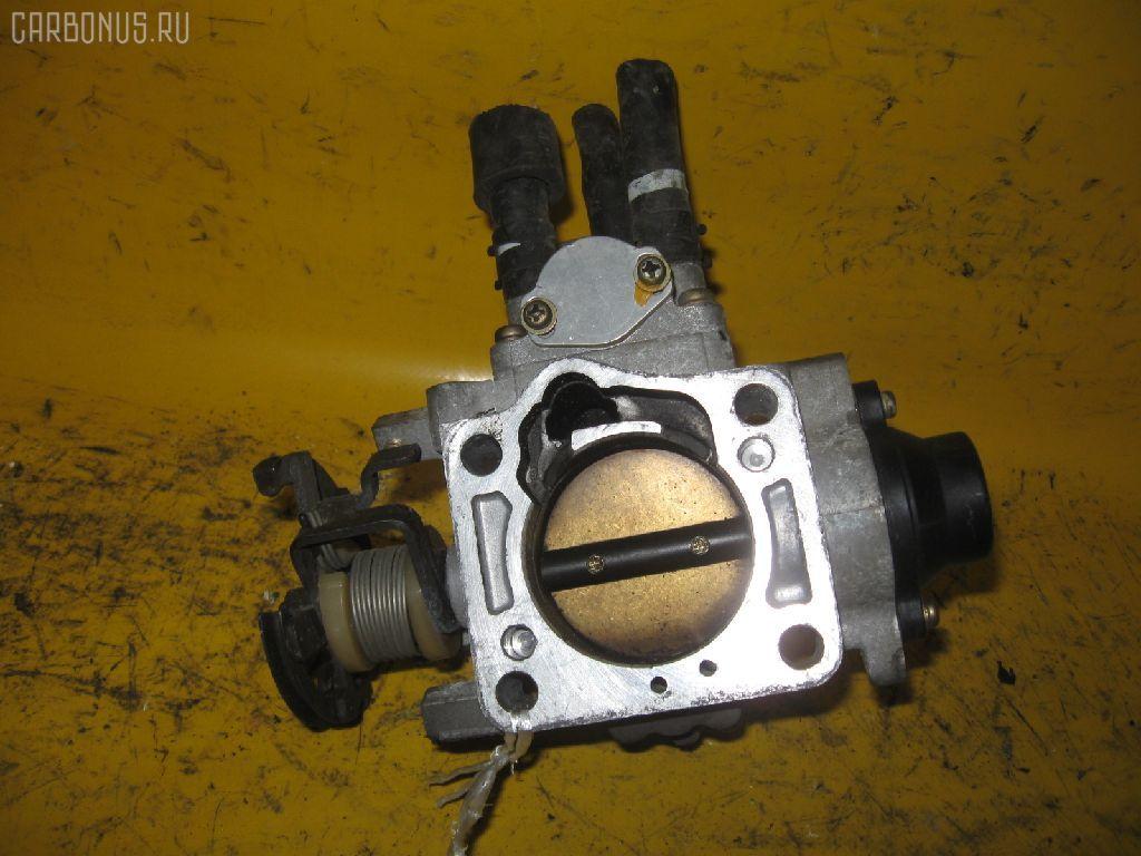 Дроссельная заслонка TOYOTA ST190 4S-FE. Фото 3